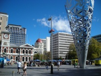 Christchurch Scenes - Cathedral Square