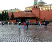 Red Square Scenes - Lenin Mausoleum