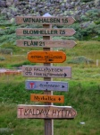Norway Train Scenes - Mrydal Directional Sign