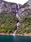 Sognefjord Waterfall Scenes