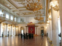 St. Petersburg Scenes - Winter Palace (Hermitage) Interior